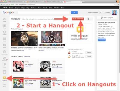 hangout-startone