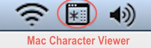 Mac Character Viewer