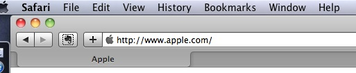 Safari Tool Bar