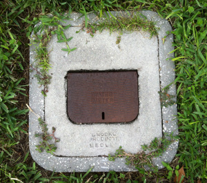 Water Meter Closed