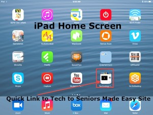 iPad Home Screen App Added
