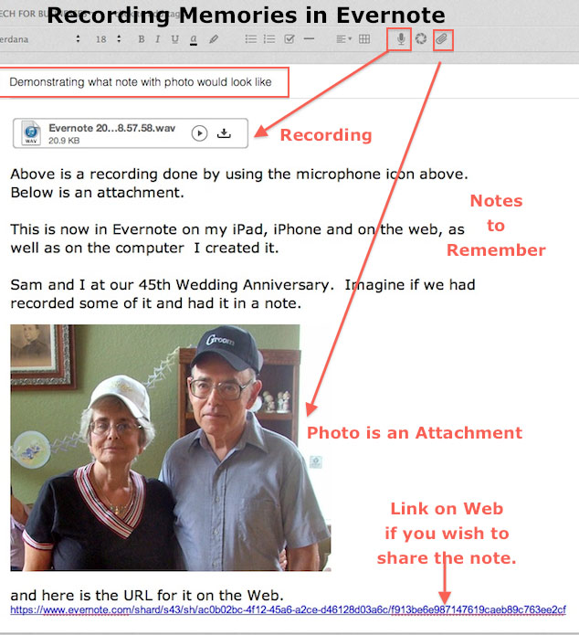 All-in-One Note - Recording and Photo in Evernote