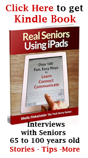 Real Seniors Using iPads - Kindle Book