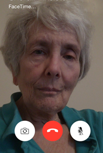 Sheila on FaceTime